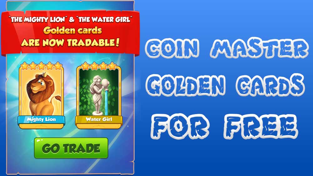 free Coin master golden cards